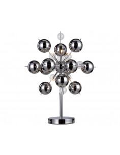 Lampa biurkowa Explosion Nave 3073242 szkło chrom
