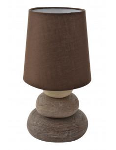 Lampa biurkowa Stone Nave 3045214 - brąz